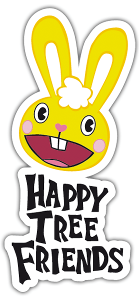 Pegatinas: Happy tree friends