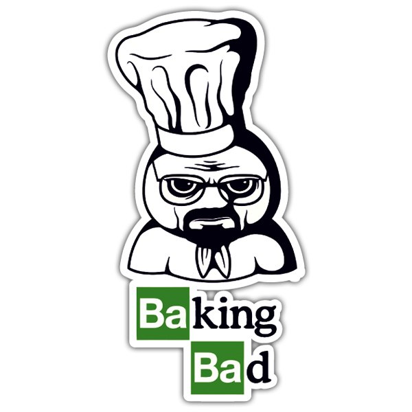 Pegatinas: Breaking Bad Pillsbury Doughboy