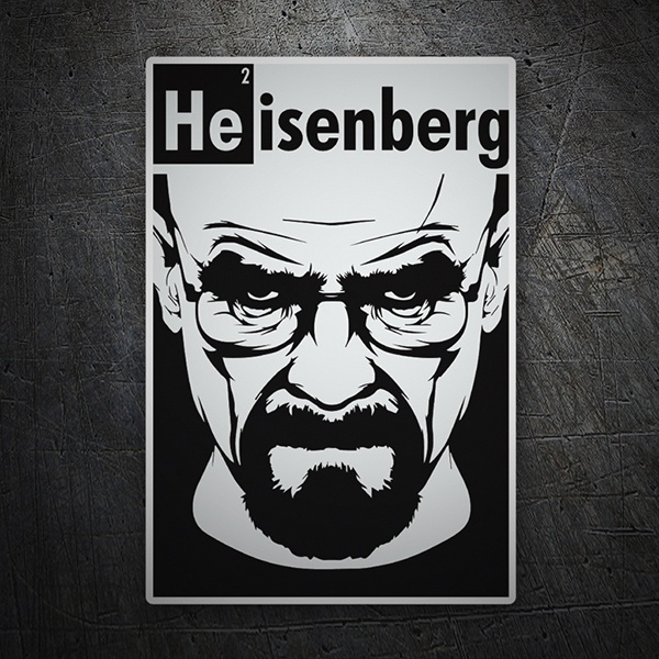 Pegatinas: Breaking Bad Heisenberg