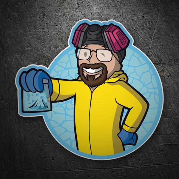 Pegatinas: Breaking Bad Vault Boy