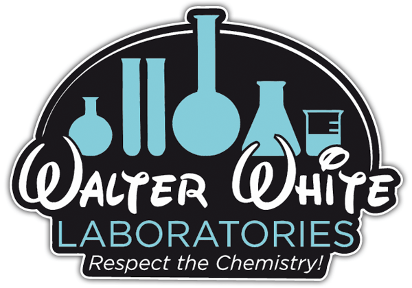 Pegatinas: Breaking Bad Walter Disney Laboratories