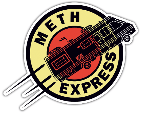 Pegatinas: Breaking Bad Express 0