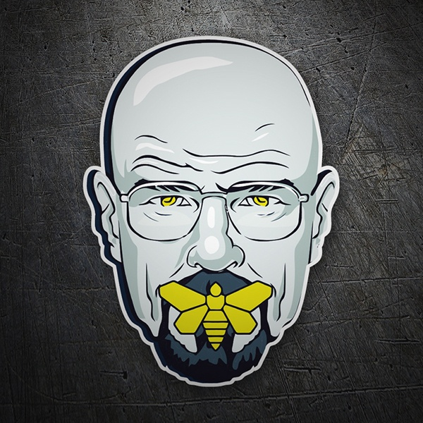 Pegatinas: Breaking Bad Silence