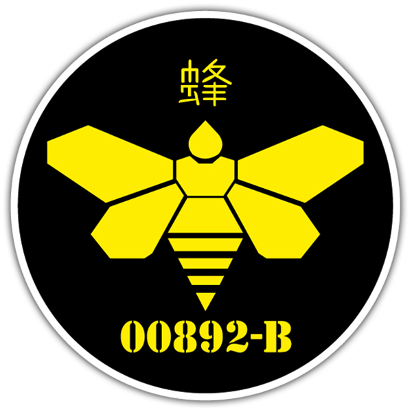 Pegatinas: Breaking Bad Japan Bee