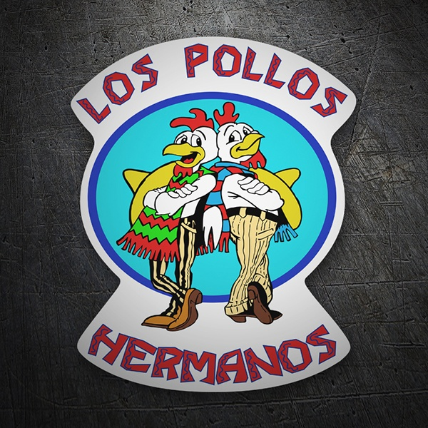 Pegatinas: Breaking Bad Los Pollos 1