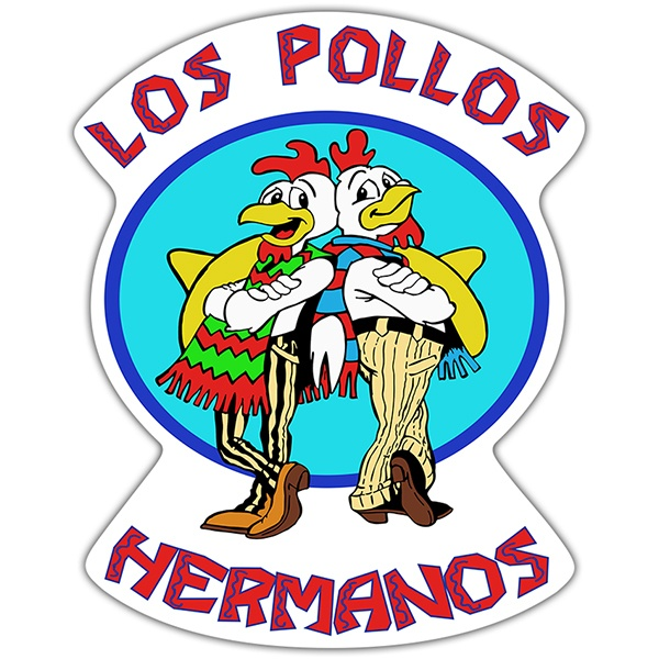 Pegatinas: Breaking Bad Los Pollos