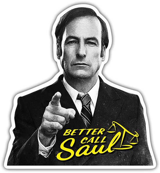 Pegatinas: Breaking Bad Better call Saul