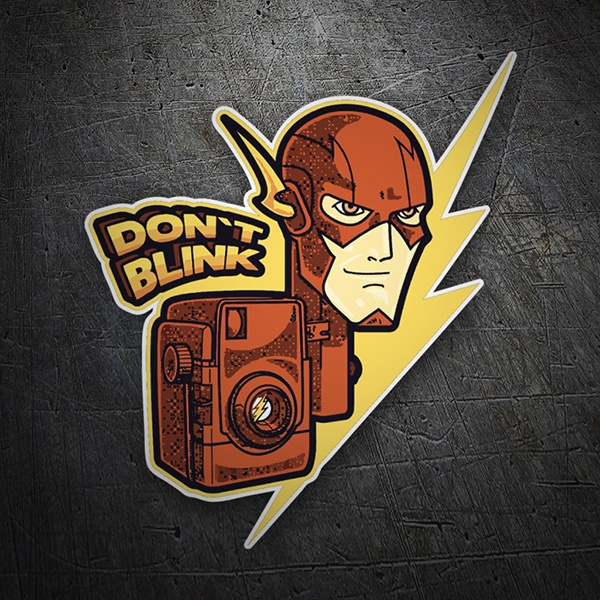 Pegatinas: Flash Don´t Blink