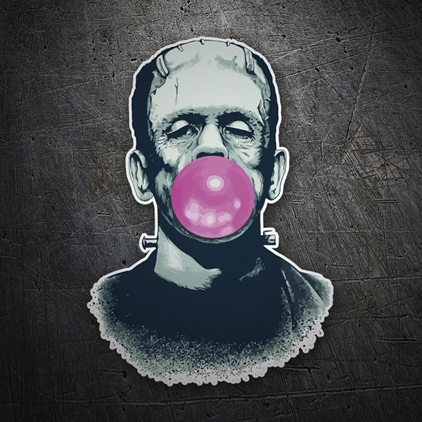 Pegatinas: Frankenstein con Chicle