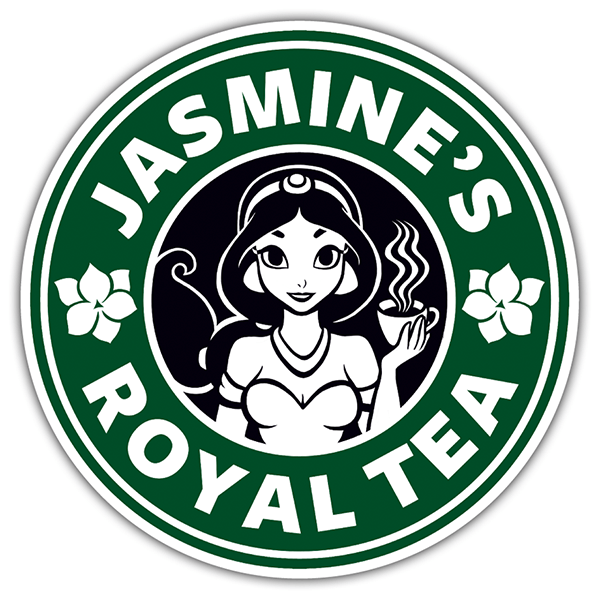 Pegatinas: Jasmine Royal tea