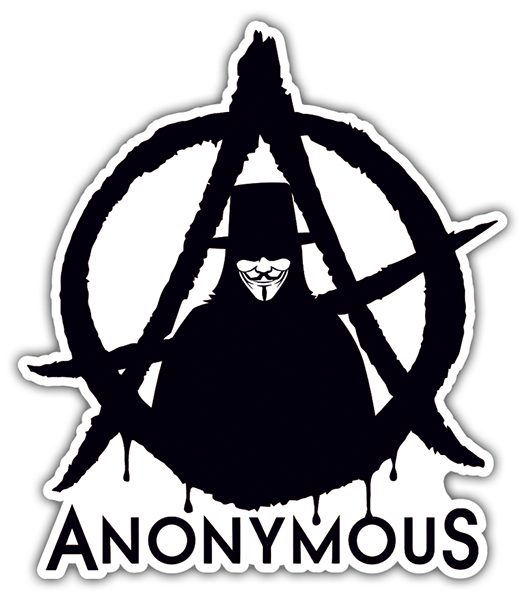 Pegatinas: Anonymous
