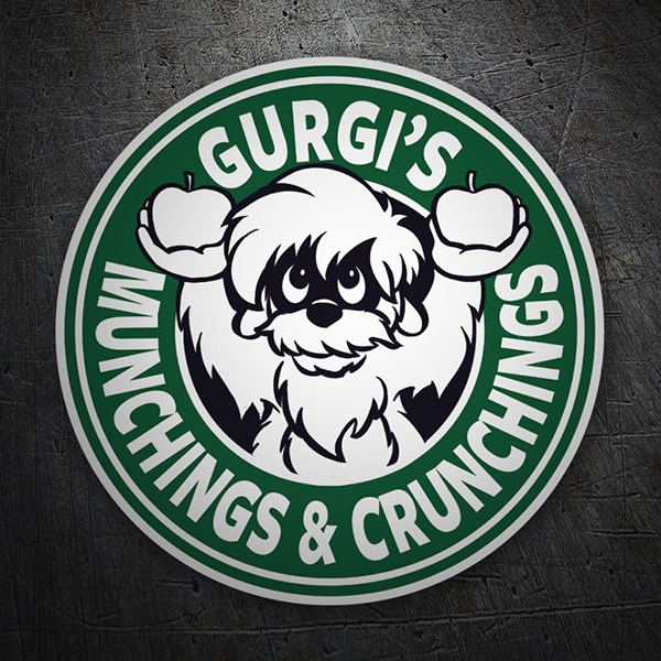Pegatinas: Gurgi Munchings and Crunchings 1