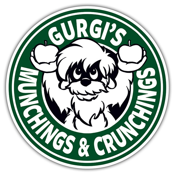 Pegatinas: Gurgi Munchings and Crunchings