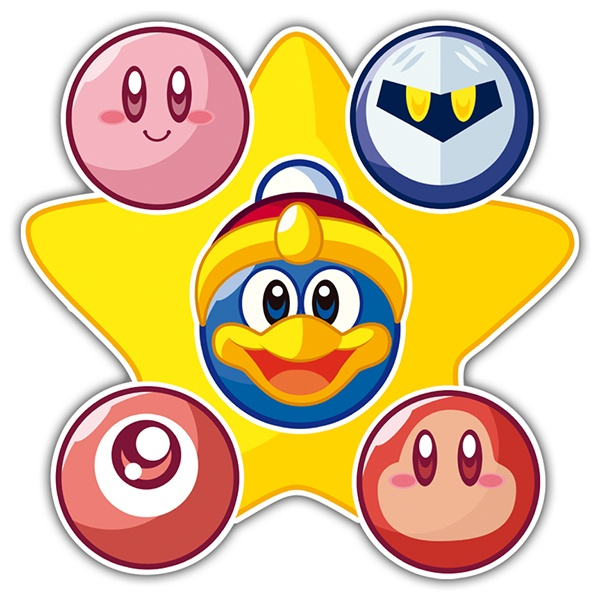 Pegatinas: Kirby & Friends