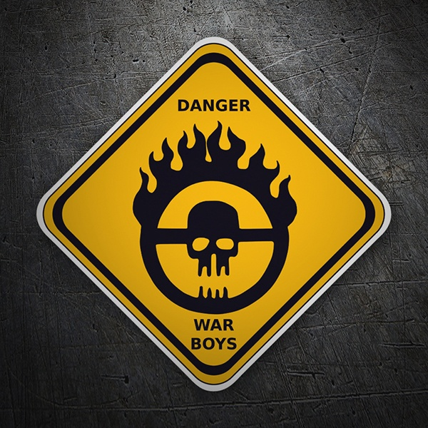 Pegatinas: Danger War Boys