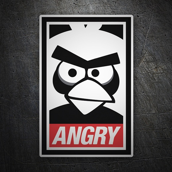 Pegatinas: Angry Birds Obey