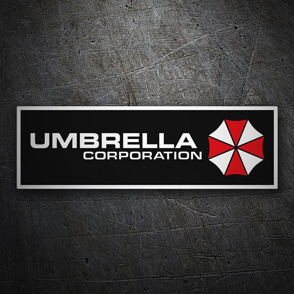 Pegatinas: Umbrella Corporation 1