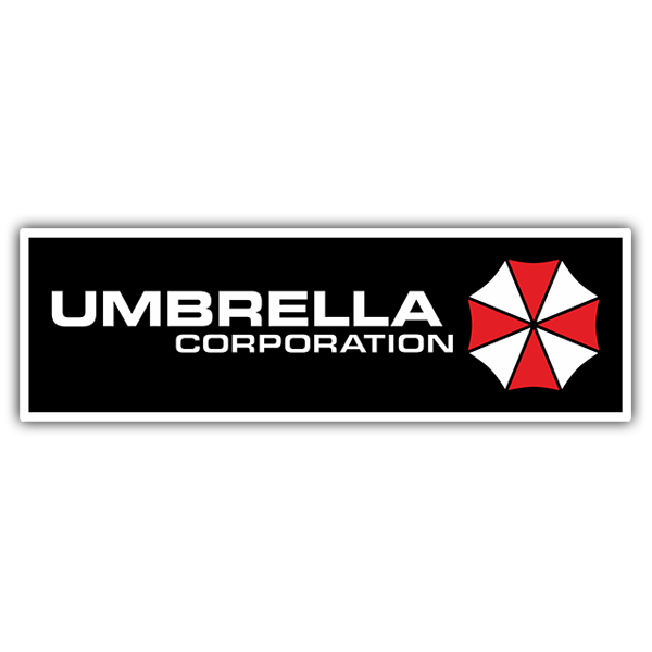 Pegatinas: Umbrella Corporation 0
