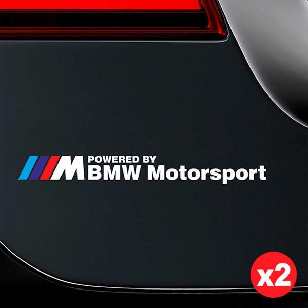 Pegatinas: Kit BMW Motorsport Blanco 1