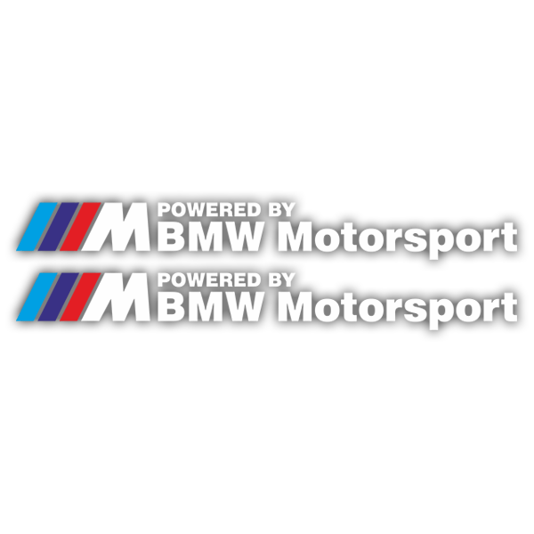 Pegatinas: Kit BMW Motorsport Blanco
