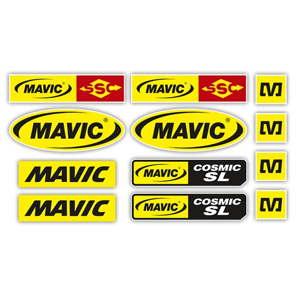 Pegatinas: Kit Mavic