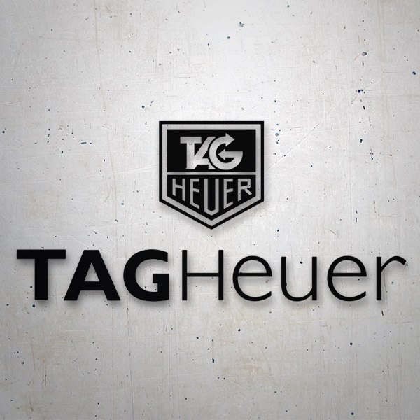 Pegatinas: Tag Heuer Since 1860