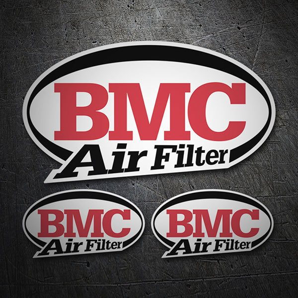 Pegatinas: Kit BMC Air Filter 1