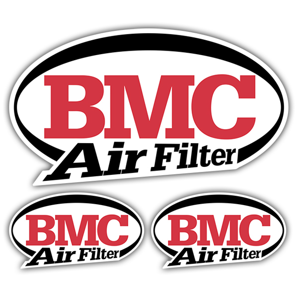 Pegatinas: Kit BMC Air Filter