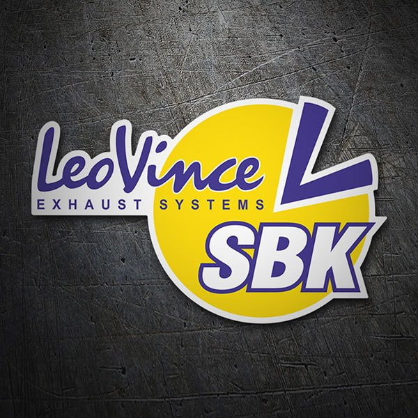 Pegatinas: LeoVince Exhaust Systems SBK