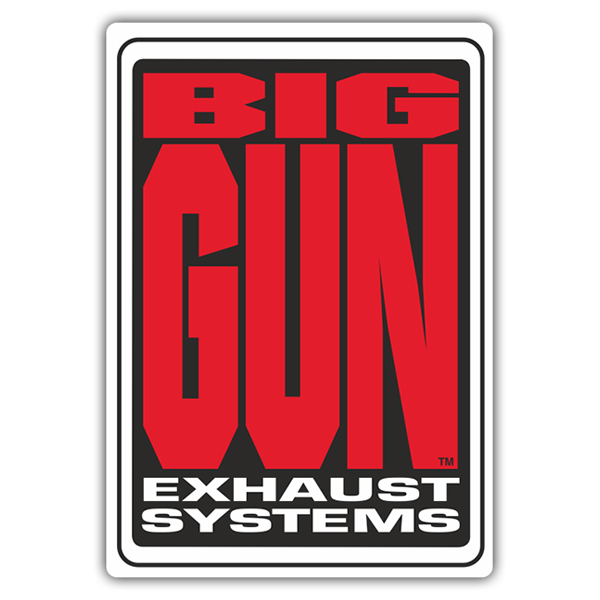 Pegatinas: Big Gun Exhaust Systems