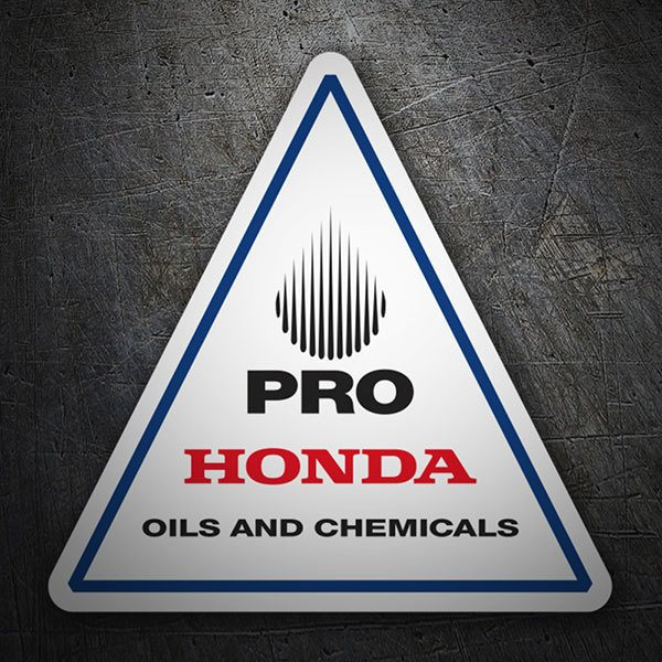 Pegatinas: Pro Honda Oils and Chemicals