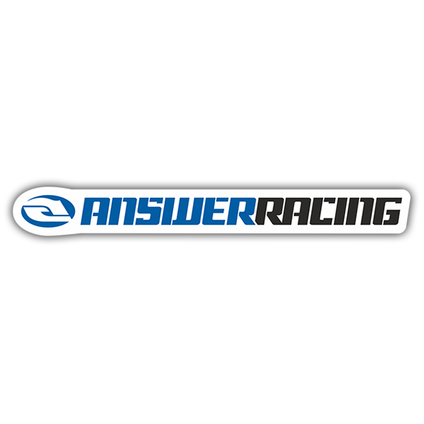 Pegatinas: Answer Racing