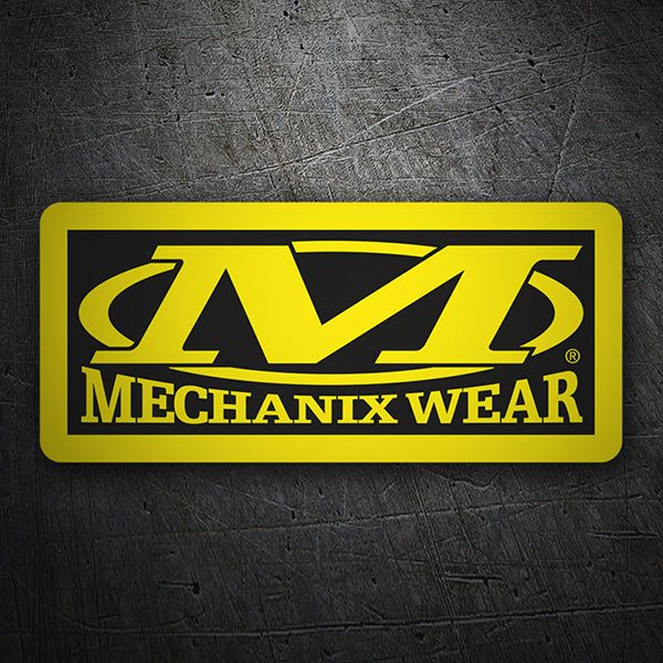 Pegatinas: Mechanix Wear 1