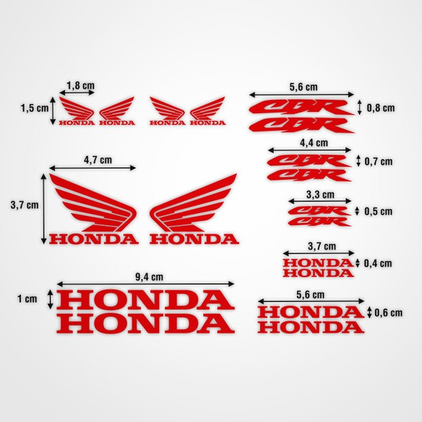 Pegatinas: Kit Honda CBR Racing