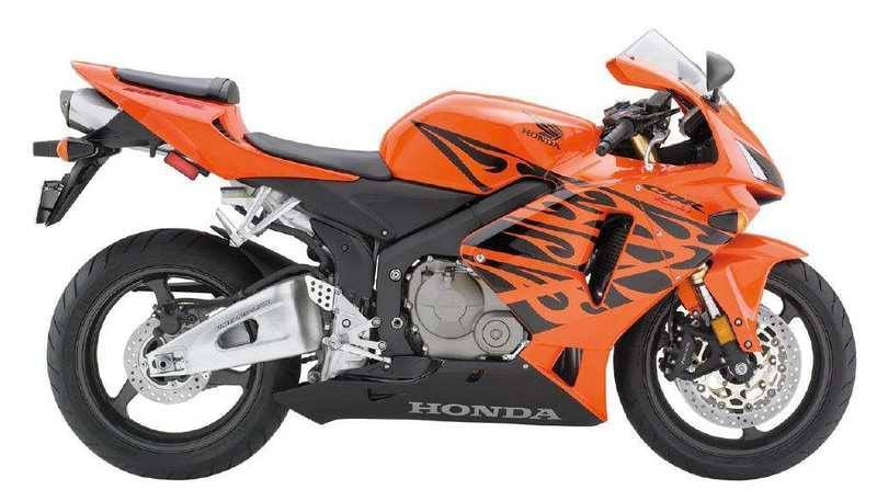 Pegatinas: Kit CBR 600 RR Flaming