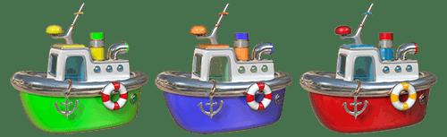 Vinilo infantil tres barcos - Imagenes de barcos infantiles ...