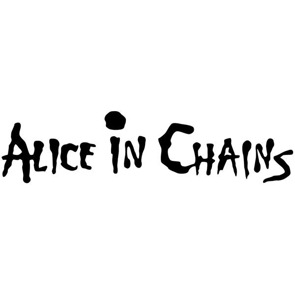 Pegatinas: Alice in Chains