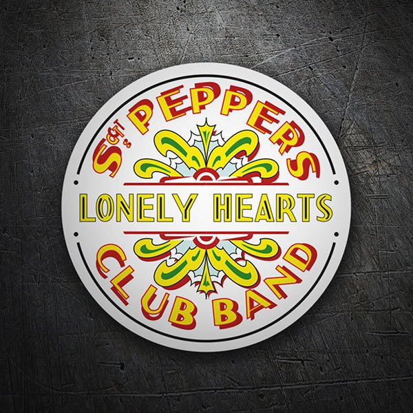 Pegatinas: Sgt. Pepper's Lonely Hearts Club Band