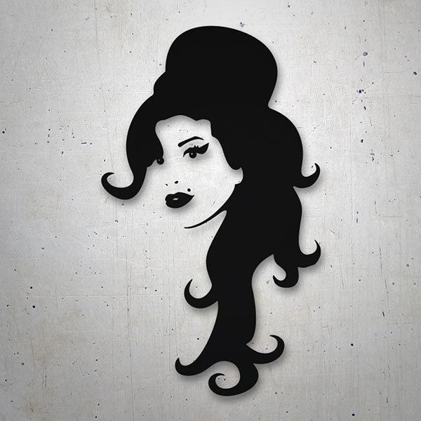 Pegatinas: Amy Winehouse 0
