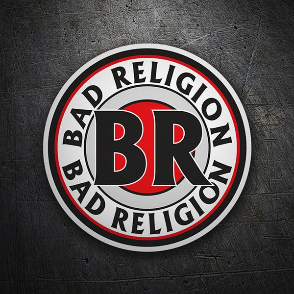 Pegatinas: Bad Religion Sello