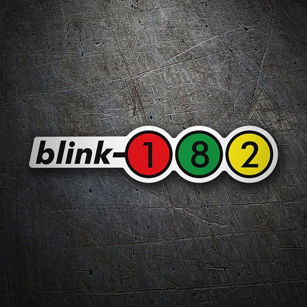 Pegatinas: Blink 182 Retro Alternative