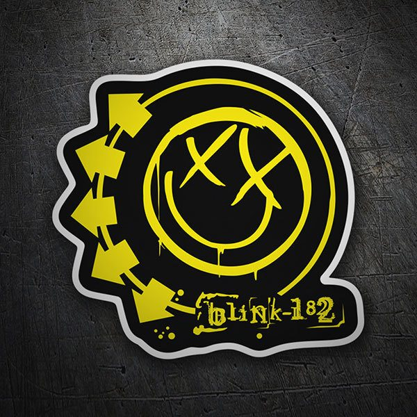 Pegatinas: Blink 182 Color