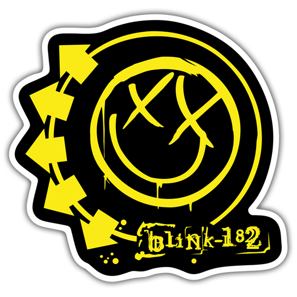 Pegatinas: Blink 182 Color 0