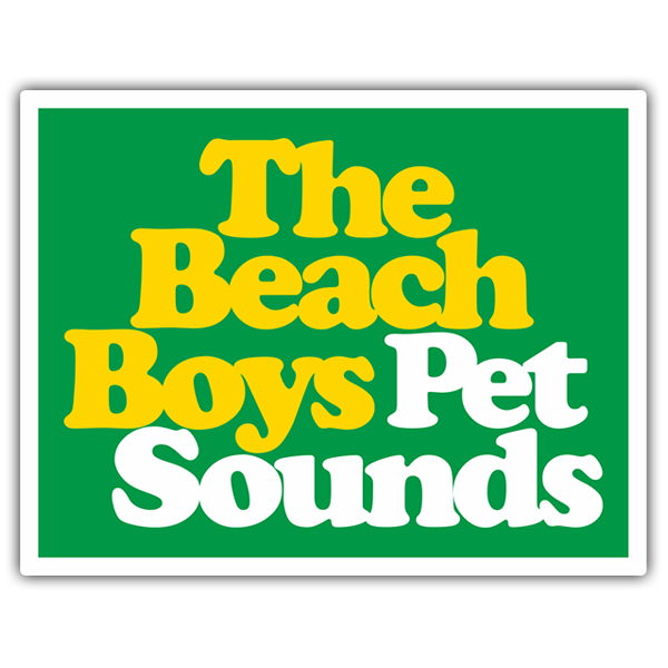 Pegatinas: The Beach Boys Pet Sounds