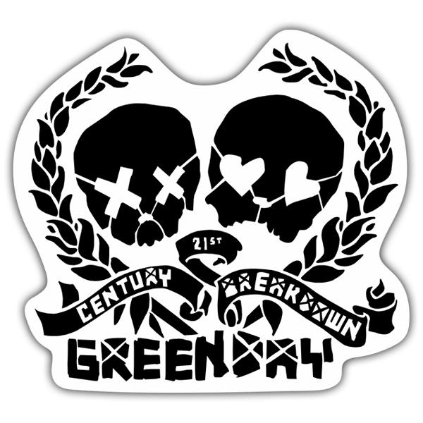 Pegatinas: Green Day Century Breakdown