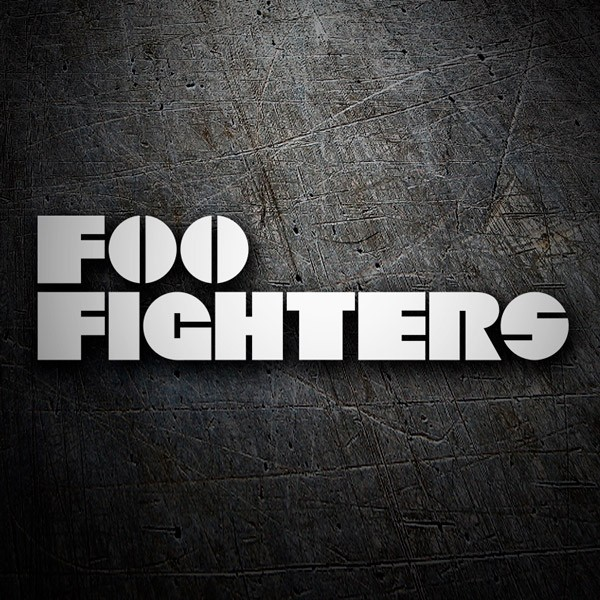 Pegatinas: Foo Fighters Classic 0