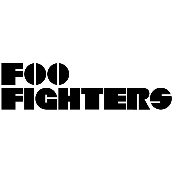 Pegatinas: Foo Fighters Classic