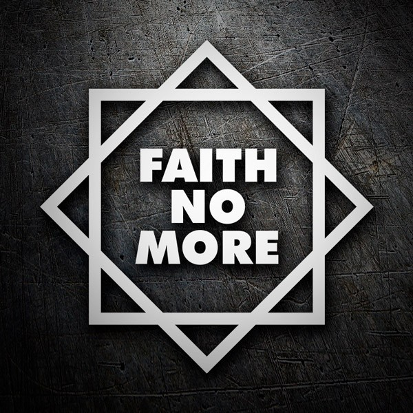 Pegatinas: Faith No More Classic