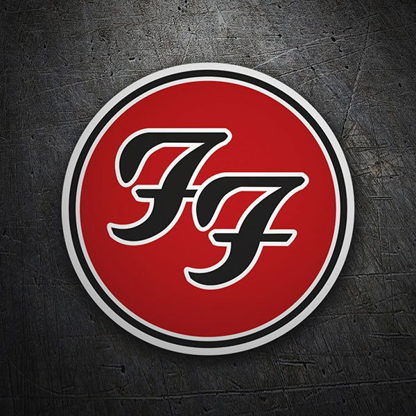 Pegatinas: Foo Fighters Logo 1