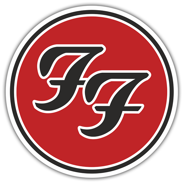 Pegatinas: Foo Fighters Logo 0